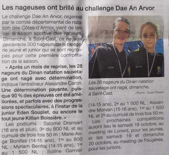 Ouest france 16 10 19