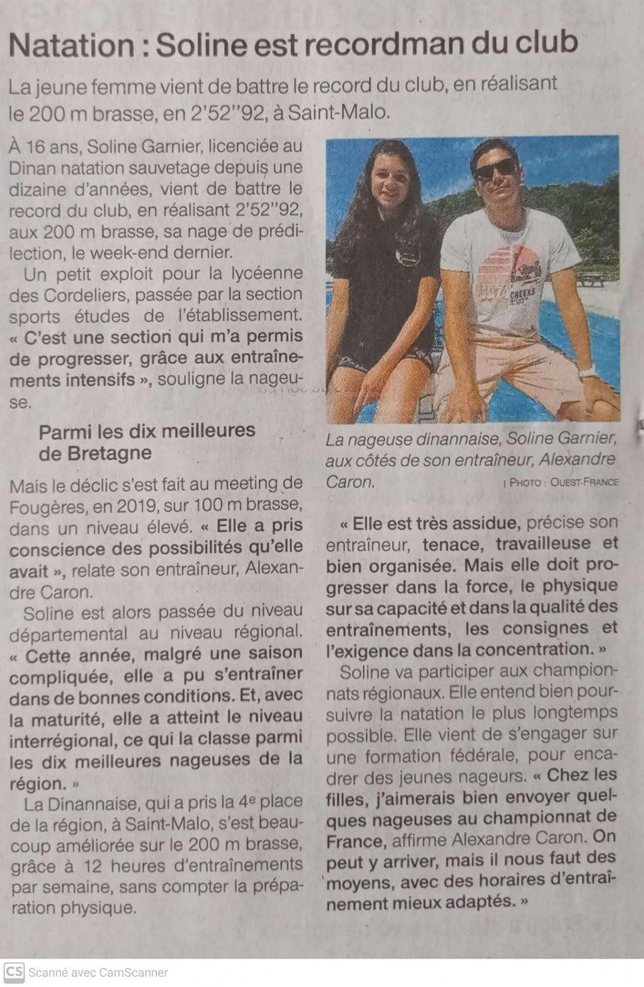 Ouest france 20 6 21