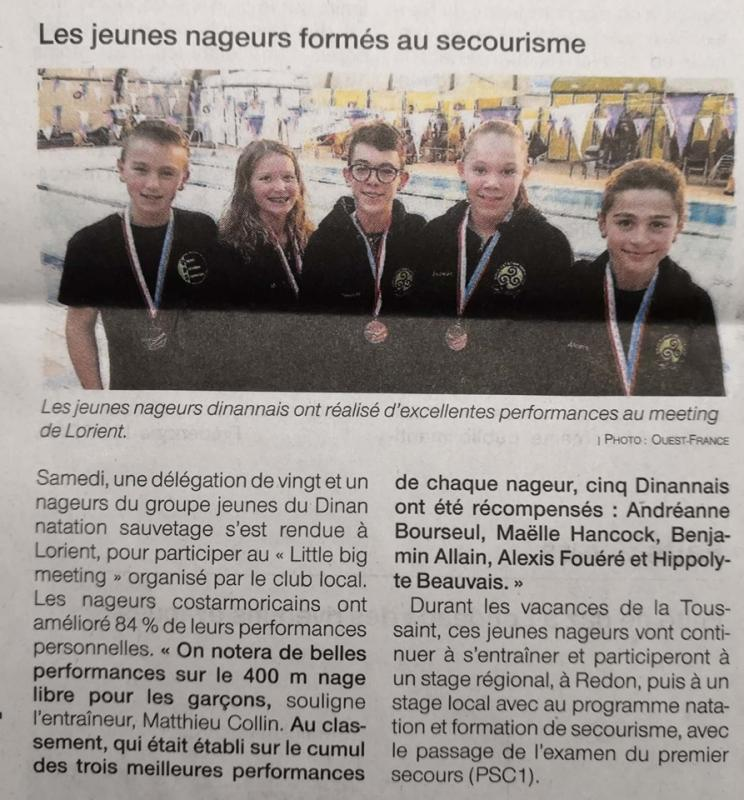 Ouest france 23 10 19