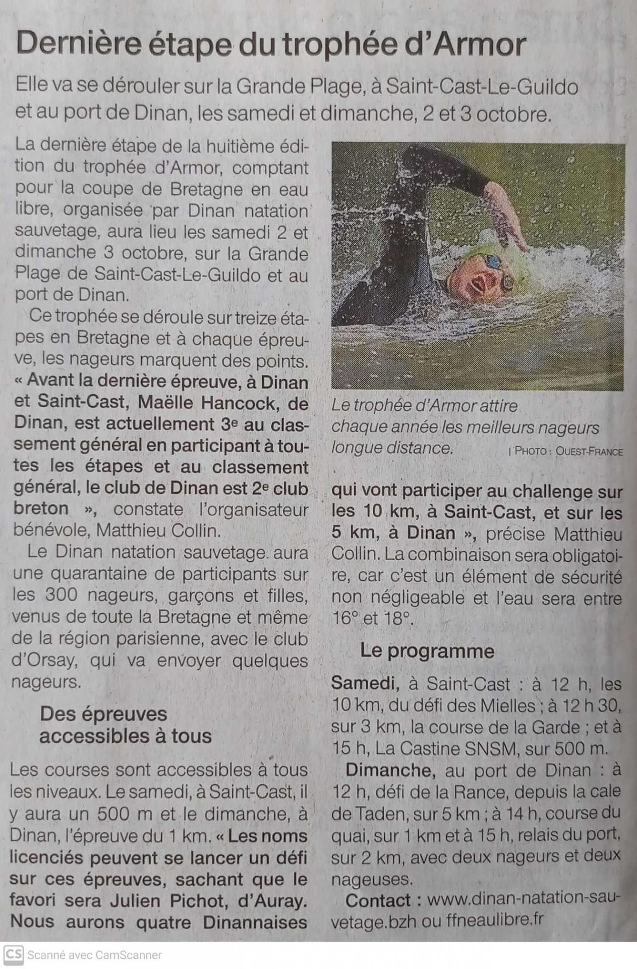 Ouest france 29 9 21