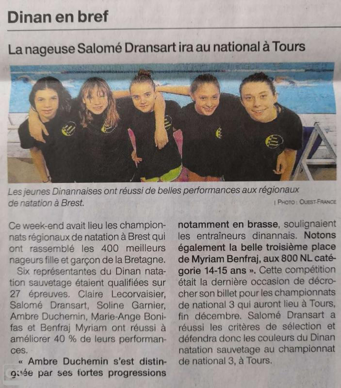 Ouest france (4-12-19)